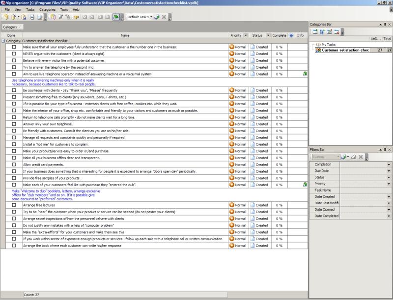 client management template