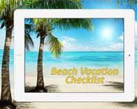 Beach Vacation Checklist