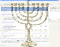 Hanukkah planning template