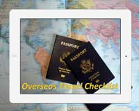 Overseas Travel Checklist