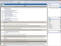 Process Control Checklist