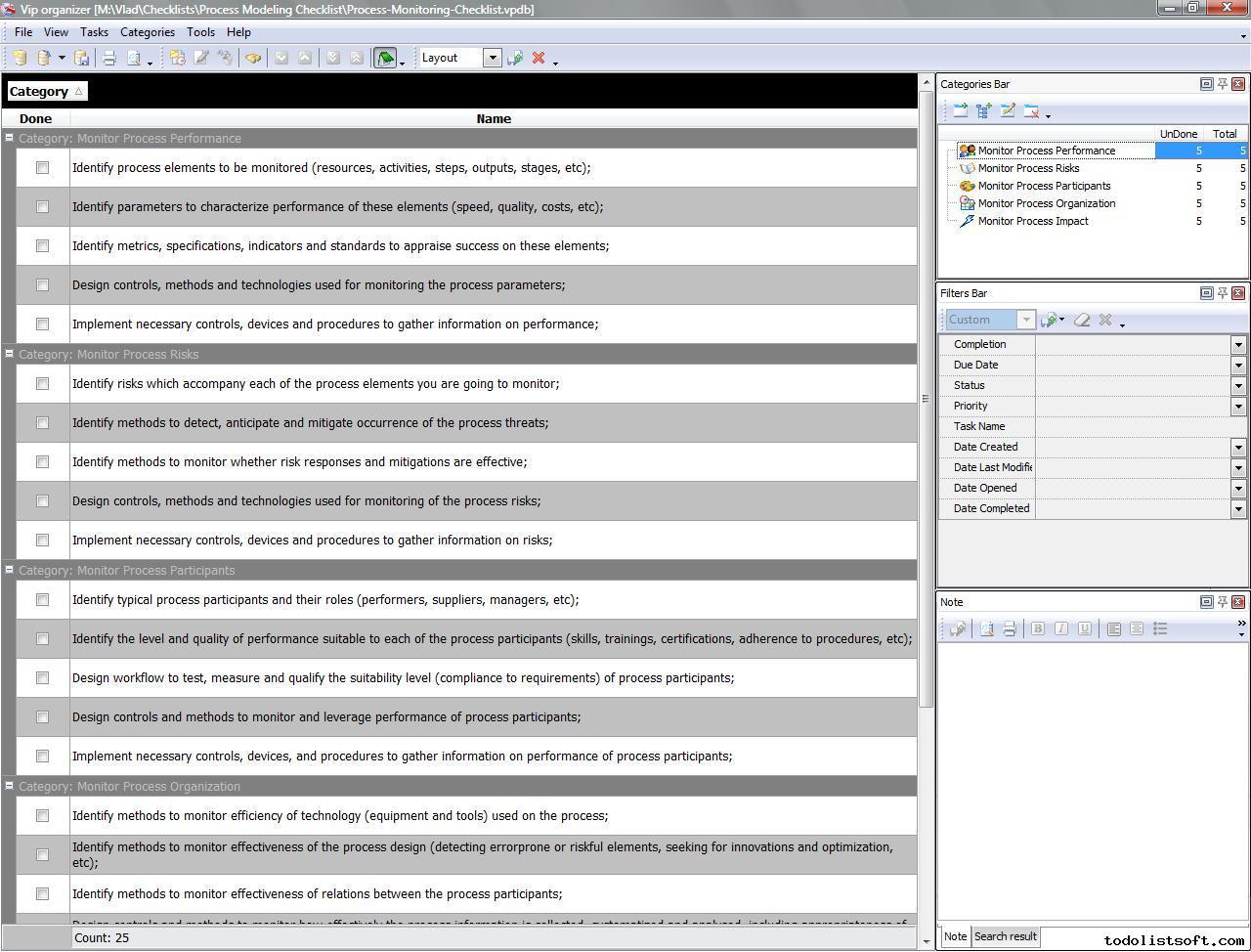 Process Management Templates