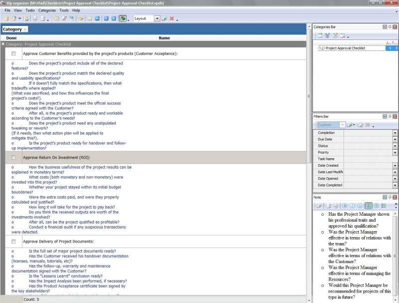 project checklist The new home for visual studio documentation is visual studio 2017 documentation on docsmicrosoftcom the latest version of this topic can be found at checklist: creating new project types you must complete several tasks to create a new project type the following checklist provides a guide to.